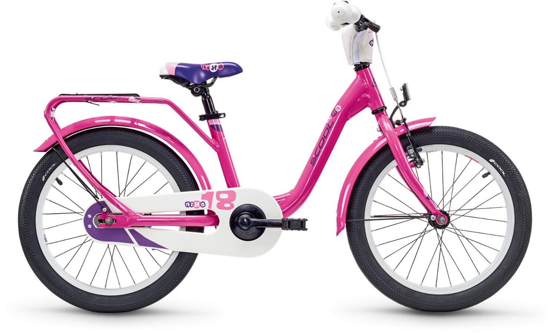 s'cool niXe 18 Børnecykel alloy pink   Find cykeltilbehør på nettet   Bikester.dk